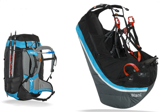 Wani Self-inflating Reversible Harness From Woody Valley